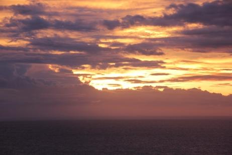 Sunset view worth the climb...
